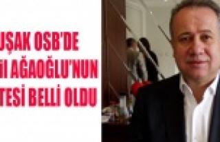 UŞAK OSB'DE AĞAOĞLU'NUN LİSTESİ BELLİ...