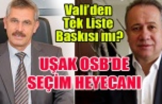 UŞAK OSB'DE TEK LİSTE İÇİN VALİ BASKI MI...