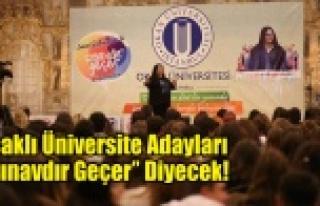 """Uşaklı Üniversite Adayları """"Sınavdır Geçer""""..."""