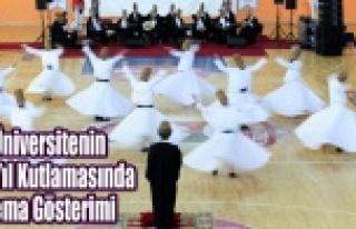 UŞAK ÜNİVERSİTESİ'NDE SEMA GÖSTERİMİ
