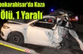Afyonkarahisar'da trafik kazası: 4 ölü, 1...