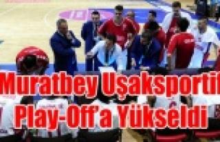 MURATBEY UŞAKSPORTİF PLAY-OFF'A YÜKSELDİ