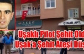 ŞEHİT PİLOT ÜSTEĞMEN'İN UŞAK'TA Kİ...