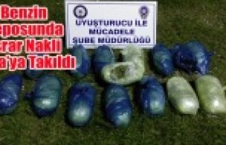 BENZİN DEPOSUNDA UYUŞTURUCU NAKLİ TORA'YA...