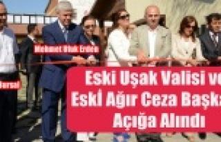 ESKİ VALİ VE AĞIR CEZA MAHKEMESİ BAŞKANI AÇIĞA...