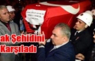 ŞEHİT POLİS ABDULLAH BIYIK'IN CENAZESİ UŞAK'A...
