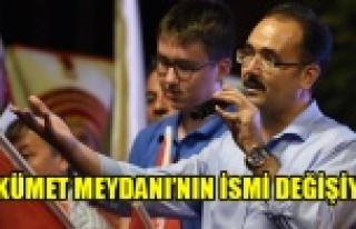 Uşak Belediyesi'nden Demokrasi Şehitlerine Ahde...