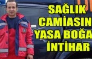 UŞAK'TA ERKEK HEMŞİRE İNTİHAR ETTİ!