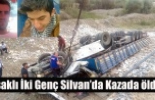 UŞAKLI NAKLİYECİ İKİ GENÇ TRAFİK KAZASINDA...