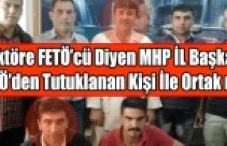REKTÖRE FETÖCÜ DİYEN MHP UŞAK İL BAŞKANI FETÖCÜ...