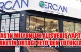 UTAŞ ORTAĞI FETÖCÜ ŞİRKETTEN MİLYONLUK MAL...