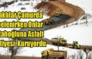 UŞAKLI ÇAMURDA DEBELENİRKEN BELEDİYE FETTAHOĞLU'NA...