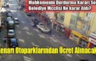 MAHKEME DUR DEMİŞTİ, BELEDİYE MECLİSİ YENİ...