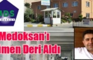 MEDOKSAN'IN FABRİKA BİNASINI ÇÜMEN DERİ...