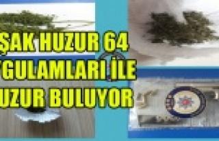 UŞAK'TA HUZUR 64 UYGULAMALARINDA 43 KİŞİ...