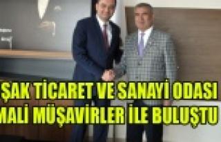 UŞAK TİCARET VE SANAYİ ODASI MALİ MÜŞAVİRLER...