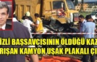DENİZLİ BAŞSAVCISININ ÖLDÜĞÜ KAZAYA KARIŞAN...