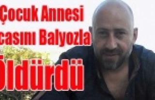 UŞAK'TA 3 ÇOCUK ANNESİ, KOCASINI BALYOZLA...