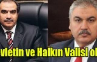 YENİ VALİ'DEN BELİRLİ ZÜMRELERİN DEĞİL,...