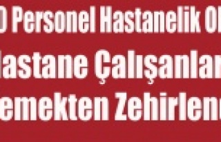 UŞAK'TA 100 HASTANE PERSONELİ YEMEKTEN ZEHİRLENDİ