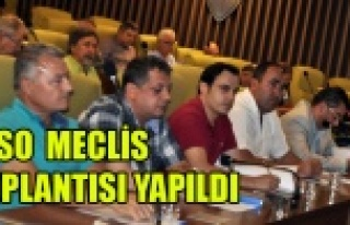 UTSO AĞUSTOS AYI MECLİS TOPLANTISI YAPILDI