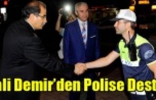 VALİ SALİM DEMİR'DEN HUZUR OPERASYONLARINA...