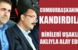 BİRİLERİ UŞAKLININ AKLIYLA ALAY EDİYOR, UTAŞ'A...
