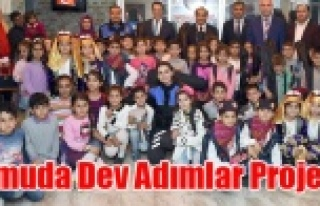 Umuda Dev Adımlar Projesi Çocukların Ufkunda Yeni...