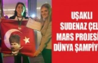 UŞAKLI SUDENAZ'IN PROJESİ DÜNYA ŞAMPİYONU...