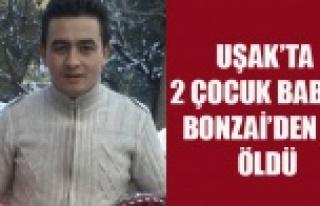 UŞAK'TA UYUŞTURUCU BAĞIMLISI 2 ÇOCUK BABASI...