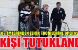 UŞAK'TA 7 ZEHİR TACİRİ TUTUKLANDI