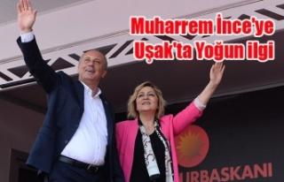 CHP'nin Cumhurbaşkanı Adayı Muharrem İnce'ye...