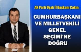 CUMHURBAŞKANI VE MİLLETVEKİLİ GENEL SEÇİMİ'NE...