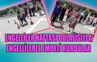 ENGELLİLER HAFTASI DOLAYISIYLA ENGELLİLERLE EMPATİ...