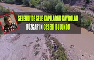 SELENDİ'DE SELE KAPILARAK KAYBOLAN RÜZGAR'IN...