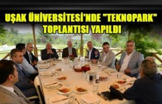 """UŞAK ÜNİVERSİTESİ'NDE """"TEKNOPARK""""..."""