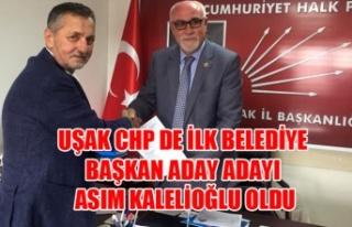 ASIM KALELİOĞLU CHP DEN BELEDİYE BAŞKAN ADAY ADAYI...