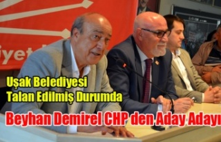 CHP DE İKİNCİ BELEDİYE BAŞKAN ADAY ADAYI BEYAN...
