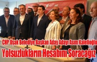 İŞ ADAMI ASIM KALELİOĞLU CHP DEN ADAY ADAYLIĞINI...