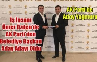 İŞ ADAMI ÖMER ÖZDEN'DE AK PARTİDEN UŞAK...