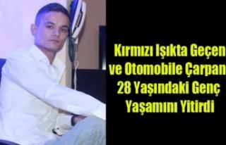 KIRMIZI IŞIK'TA OTOMOBİLE ÇARPAN MOTOSİKLET...