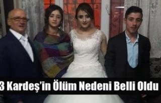 UŞAK'TA DÜN ÖLÜ BULUNAN 3 KARDEŞİN ÖLÜM...