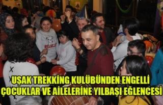 UŞAK TREKKİNG KULÜBÜNDEN ENGELLİ ÇOCUKLAR VE...