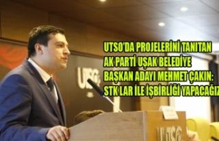 AK PARTİ BELEDİYE BAŞKAN ADAYI MEHMET ÇAKIN: STK...
