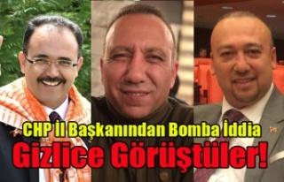 CHP İL BAŞKANINDAN UŞAK SİYASETİNİ KARIŞTIRACAK...