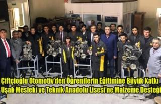 ÇİFTÇİOĞLU OTOMOTİV'DEN EĞİTİME BÜYÜK...