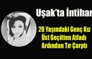 UŞAK'TA 20 YAŞINDAKİ GENÇ KIZ YAŞAMINA SON...