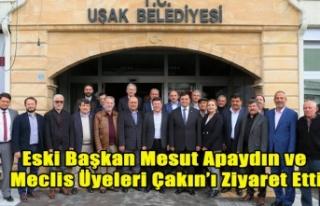 ESKİ BAŞKAN APAYDIN VE MECLİS ÜYELERİNDEN YENİ...