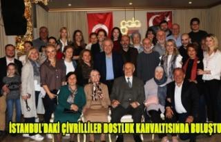 İSTANBUL'DAKİ ÇİVRİLLİLER DOSTLUK KAHVALTISINDA...