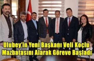 ULUBEY'İN YENİ BELEDİYE BAŞKANI VELİ KOÇLU...